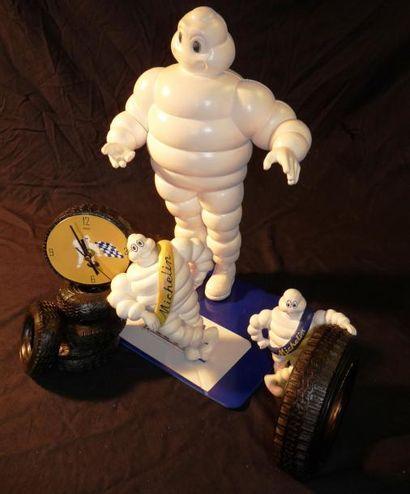 Lot Michelin comprenant 3 bibendums