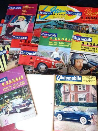 L'Automobile (mensuel) Nov 1952- Dec 1953...