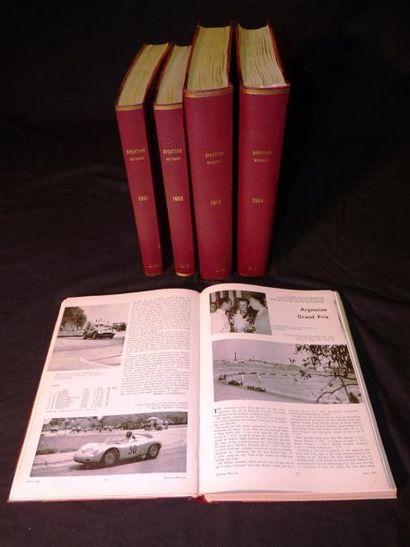 Sporting Motorist (mensuel), 5 bound volumes:...
