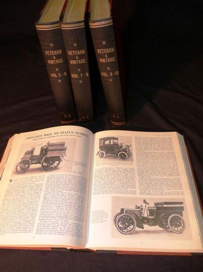 Veteran & Vintage (4 volumes reliés), vol...