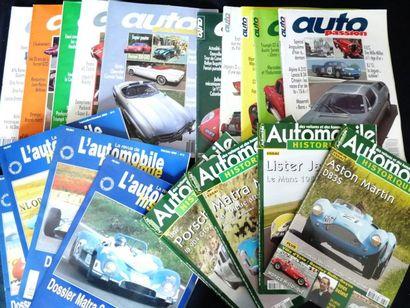 Lot comprenant L'Automobile Historique, du...