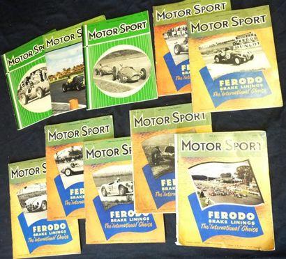 Motor Sport (mensuel) 1953: manquent Fev....