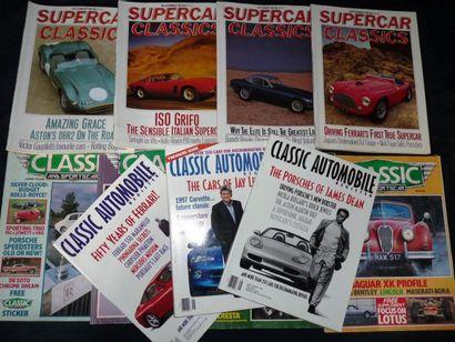 Lot comprenant Classic Automobile Register...