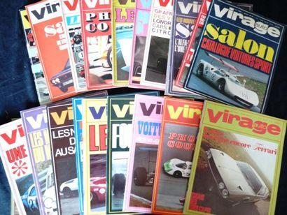 Lot comprenant Virage Auto (mensuel) 2 années...