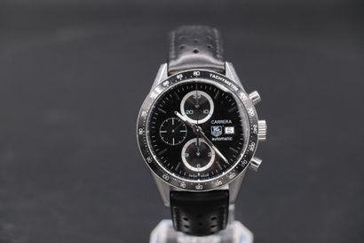TAG HEUER (Chronographe Grand Carrera 16...