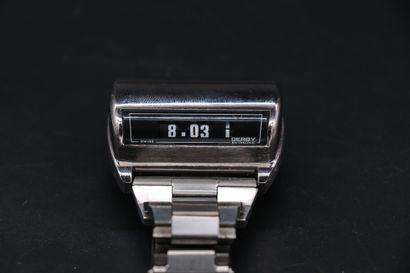 DERBY SWISSONIC JAZ Circa 1970. Montre bracelet...