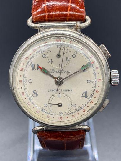 BREITLING pour homme chronographe roue à...