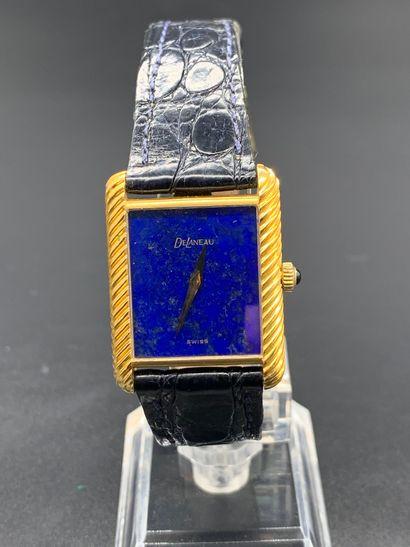 DELANEAU Circa 1970 Réf 1648 Montre bracelet...