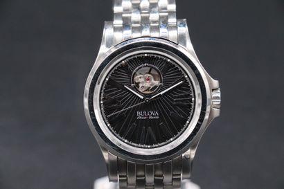 BULOVA 63A126 Circa 2010. Réf : 99095109/C8601061/B4...