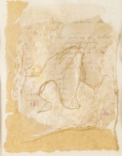 F. MARIE-LIRANS (XXÈME SIÈCLE) Composition...