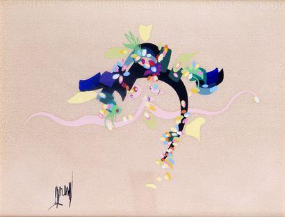 RAYMOND MORETTI (1931-2005) Composition aux...