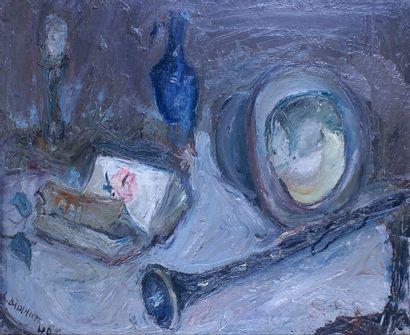 GABRIEL DAUCHOT (1927-2005) Nature morte...