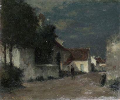 JOSEPH PAUL MESLÉ (1855-1929) Clair de Lune...