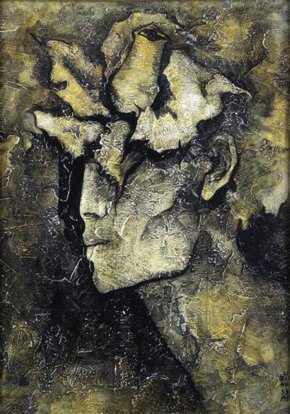 RAYMOND BIAUSSAT (1932-) Profil surréaliste...