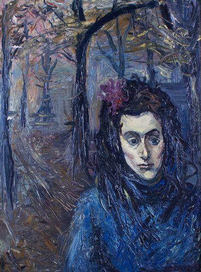 GABRIEL DAUCHOT (1927-2005) Singes et rêveries...