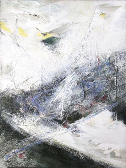 BERNARD ALLIGAND (1953-) Inclinaison, composition...