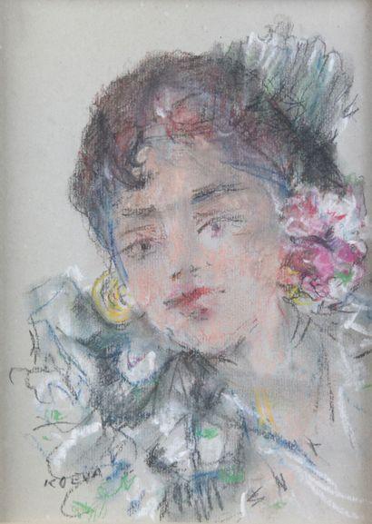 RADKA KOEVA-EHLINGER (1937-) Portrait de...