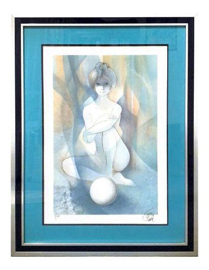JEAN-BAPTISTE VALADIÉ (1933-) Sérénité Lithographie...