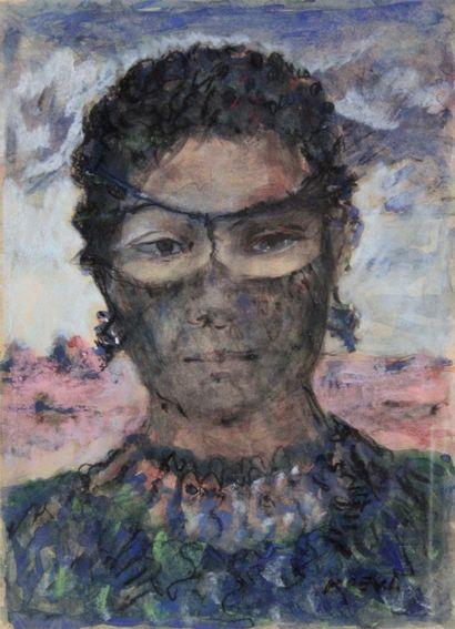 RADKA KOEWA-EHLINGER (1937-) Portrait de...
