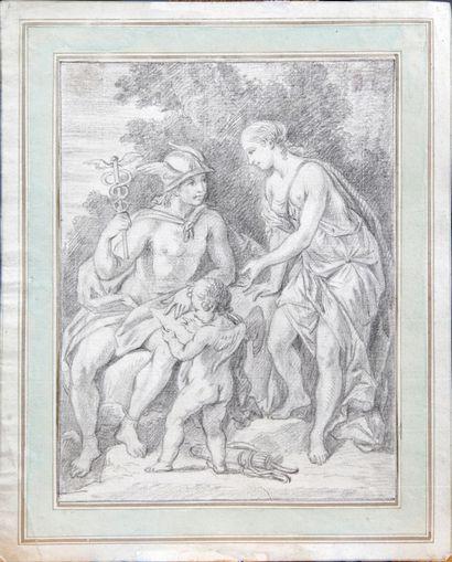 ÉCOLE FRANÇAISE vers 1700, entourage de Bon...
