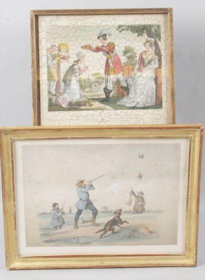 PUZZLE. XIX siècle, Le Couronnement de la...