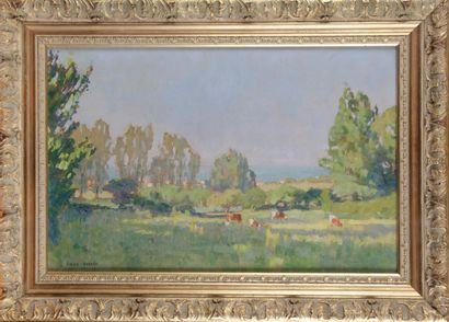 Émile DORRÉE (1883-1959) «Querqueville, Manche»...