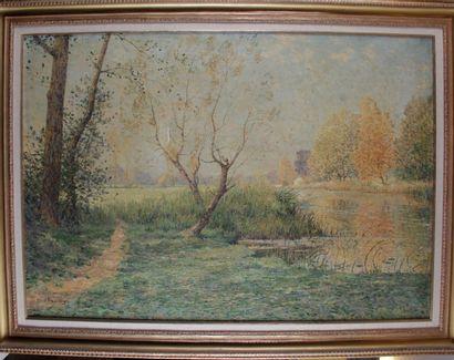 Albert GOSSELIN (1862-193140) « La seine...