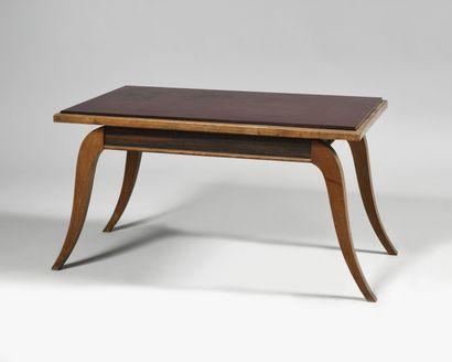 TRAVAIL DES ANNEES 1930 Table basse à plateau...