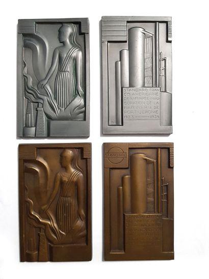 GUSTAVE MIKLOS (1888-1967) Plombs et première...