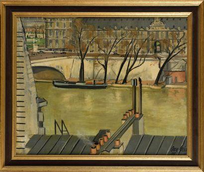 ANNE CARLU (1895-1972) Quai des Tuileries...