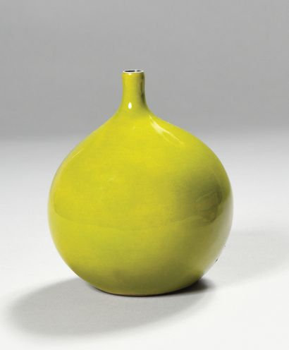 Atelier GEORGES JOUVE (1910-1964) Vase boule...
