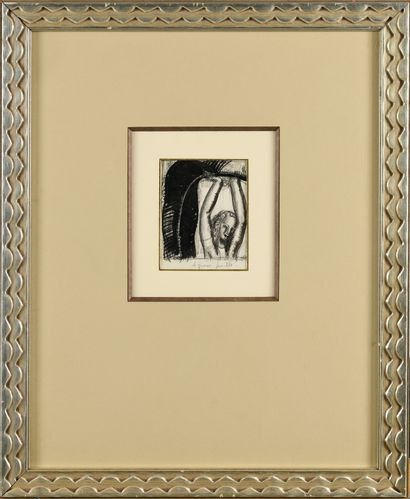 JEAN DUPAS (1882-1964) La grosse feuille...
