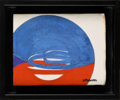 JAMES PICHETTE (1920-1996) Sans titre (fond...