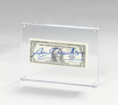 ANDY WARHOL (1928-1987) Billet de 1$ Washington,...