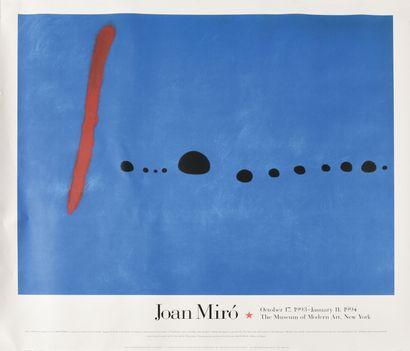 JOAN MIRO (1893-1983) MOMA, 1994 Affiche...