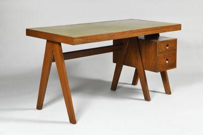 PIERRE JEANNERET (1896-1967) Executive Desk...