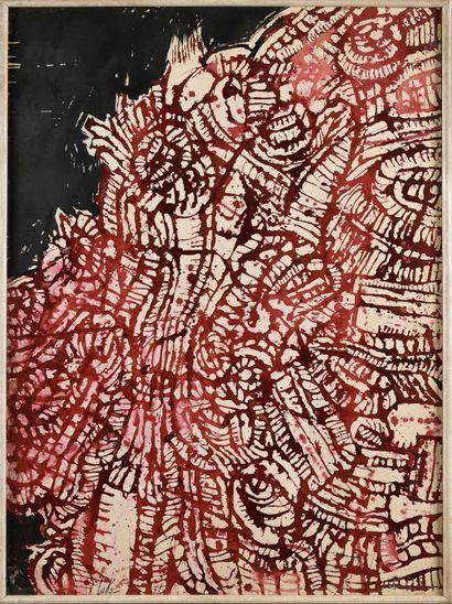 VICTOR LAKS (1924-2011) Sans titre, 1971...