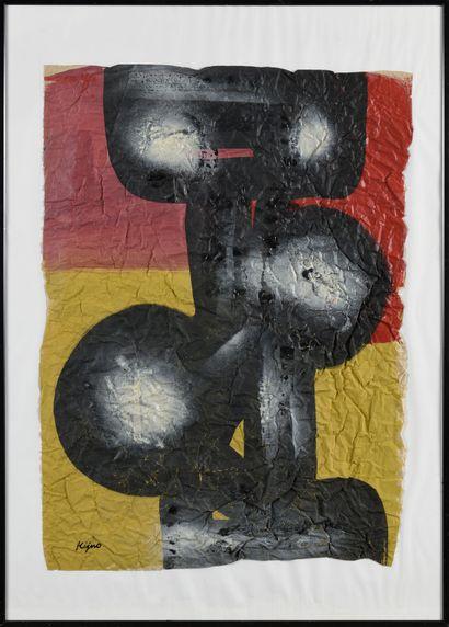 LADISLAS KIJNO (1921-2012) Sans titre Technique...