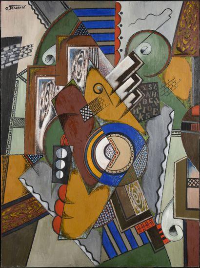 GEORGES TERZIAN (Né en 1939) Le fouet, 2002...