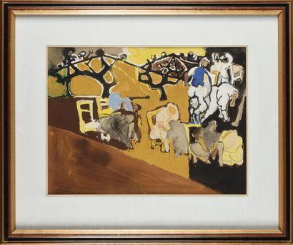 EDOUARD PIGNON (1905-1993) Les vendanges,...