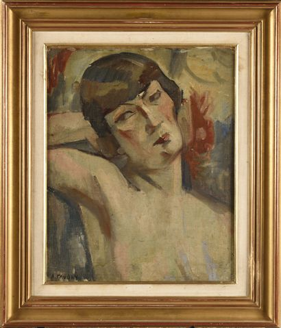 ANDRE FAVORY (1888-1937) Modèle en buste...