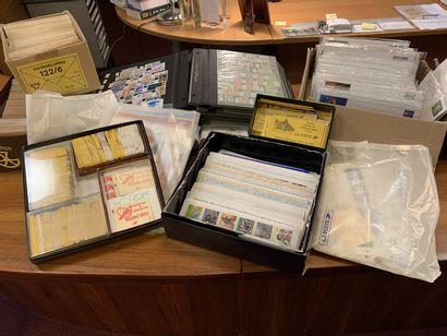 FRANCE MODERNE : Important lot de timbres...