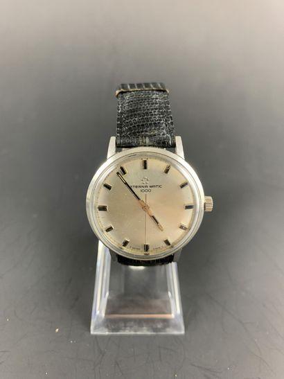 ETERNA MATIC Vers 1960. Montre bracelet pour...