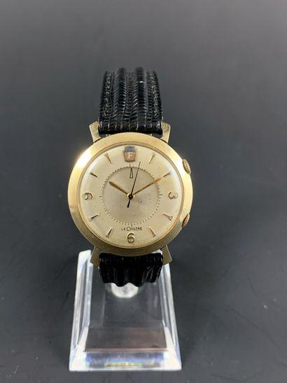 LECOULTRE Memovox Ford vers 1955. Rare montre...