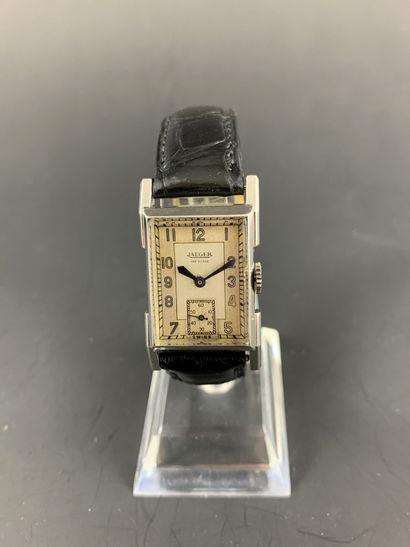JAEGER Uniplan Vers 1930. Réf: 14748. Montre...