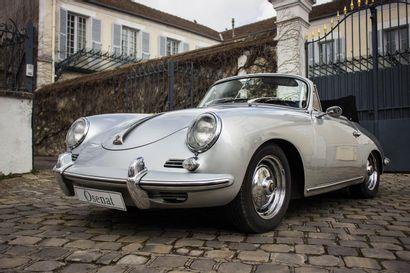 1960 PORSCHE 356 BT5 1600 S CABRIOLET