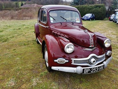 1952 PANHARD DYNA X86 Serial number 481149  Stayed in the same family for a long...