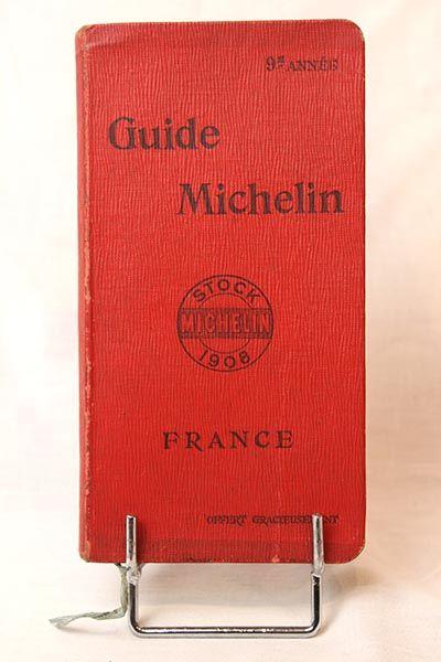 GUIDE MICHELIN 1908