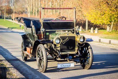 1910 Brasier 12HP Double-Phaéton