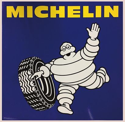 PLAQUE EMAILLEE  MICHELIN